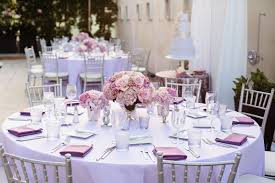 cheap wedding linens wedding color palettes purple décor inside weddings