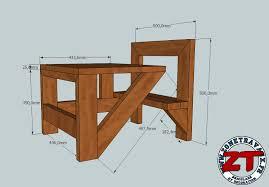 plan pour fabriquer un bureau en bois création fabriquer une table d écolier 1 2