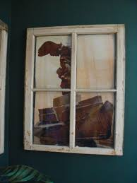 how to hang an old window little house design