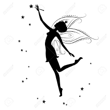 photos free fairy silhouette vector drawing art gallery
