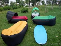 with sunshade tent lazy bag laybag sleeping bag fast inflatable