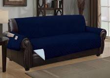 blue furniture slipcovers ebay