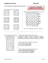 Free Critical Thinking Worksheets For Kindergarten   puzzles     lbartman com toothpick puzzles for a rainy day  Kid activity for the kids to keep busy