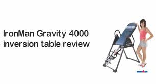 ironman gravity 4000 inversion table ironman gravity 4000 inversion table don t buy it before you watch