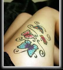 71 outstanding butterfly tattoos on thigh