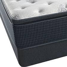 beautyrest silver navy pier luxury firm queen pillowtop mattress