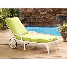 Aluminum Chaise Lounge Home Styles Biscayne Outdoor Chaise Lounge Chair With Cushion