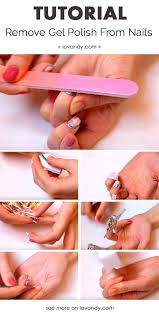 diy how to remove gel polish from nails by yourself