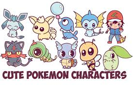 pokemon characters archives how to draw step by step drawing