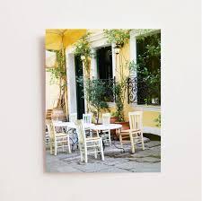 greece photography cafe art print athens photograph greek