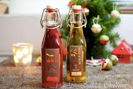 actu cuisine huile et vinaigre parfumés maison cadeaux gourmands recette de