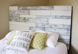white painted headboard pertaining to beautiful wood simple design