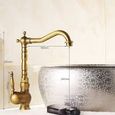 free faucet kitchen free shipping kitchen faucets swivel antique brass porcelain mixer
