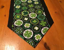 st patrick s day table runner jack jim johnny and jameson four fathers of st patrick s