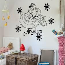 online get cheap tattoo wall murals aliexpress com alibaba group d0101 princess rapunzel tangled vinyl wall art sticker girl s bedroom decal wall tattoo mural for kid