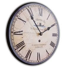 Wall Clock Italian Hotel Wall Clock 24