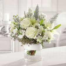 white flower centerpieces one stop wedding white floral wedding centerpieces