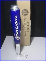 bud light beer tap handle bud light iconic tall beer tap handle budweiser with box keg brewery