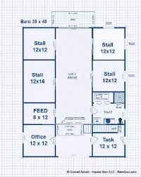 horse barn with living quarters floor plans barns with living quarters floor plans