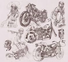 107 best sketch motorcycle images on pinterest motorcycles