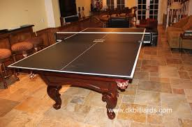 Rotating Dining Pool Table Table Tennis Billiard  In  Table - Pool table dining room table top