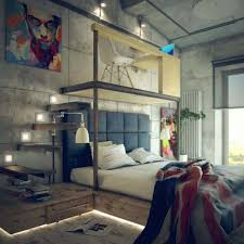 loft style bed 35 edgy industrial style bedrooms creating a statement