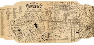 map of downtown los angeles hav a kar car rental map of los angeles 1946