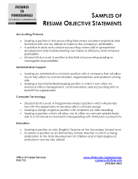How To Make The Best Resume by Awesome Job Objective Statement Photos Best Resume Examples For