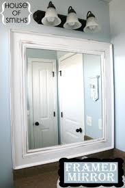 homey inspiration bathroom mirror frame ideas best 25 framed