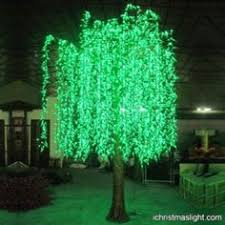 Outdoor Lighted Trees Lighted Willow Tree For Restaurant Decoration Led Willow Trees