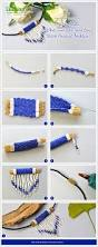 Pandahall Tutorial On How To Pandahall Tutorial On How To Make A White And Blue Seed Bead