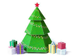 diy tree gift boxes diy ornaments printable
