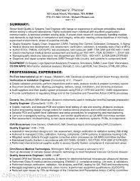 Resume Templates Medical by Writing A Clear Auto Sales Resume Medical Device Sales Resume