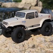 jeep rock crawler buggy ecx rtr barrage 1 9 class 4wd rock crawler rc car action