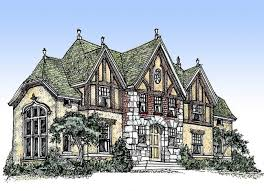 house plans with turrets longview plan 6275 edg collection tudor home plans designs