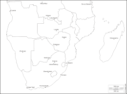 Map Of Southern States Southern Africa Free Map Free Blank Map Free Outline Map Free