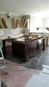 Two Kitchen Islands Kitchen Island With Seating On Two Sides