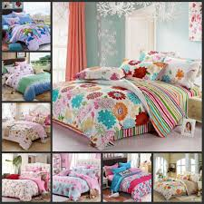 girls bed quilts duvet bwl beautiful full duvet amazon com 3 piece girls rainbow