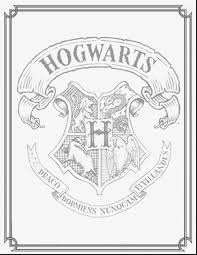 brilliant ravenclaw crest coloring page with harry potter coloring