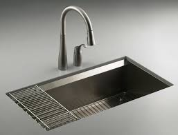 Single Kitchen Sinks Cool Single Basin Kitchen Sink All Home Decorations