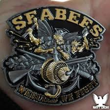 build a navy seabees of the navy can do attitude spirit