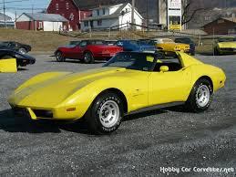 77 corvette for sale 1977 chevrolet 1977 yellow corvette l82 4spd 20k for sale in