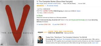 when does amazon black friday start amazon canada black friday today u0027s deals save 60 on macgyver