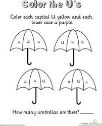learning the letter v worksheets kindergarten and color by numbers