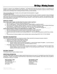 winning resume haadyaooverbayresort com