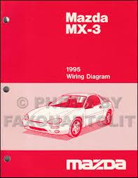 mazda mx3 1995 mazda mx 3 repair shop manual original