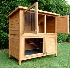 4ft Rabbit Hutch With Run Double Hutches High Quality Double Hutches Rabbit Hutch World