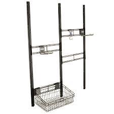 Suncast Shed Shelves by Shop Suncast Black Powder Coated Metal Storage Shed Tool Hanger