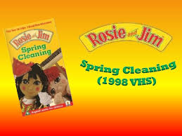rosie and jim spring cleaning 1998 vhs youtube