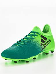 womens football boots nz adidas x 16 3 firm ground football boots solar green outlet sport